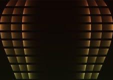 Gelber Ballonzusammenfassungspixel-Kurvenhintergrund Lizenzfreie Stockbilder