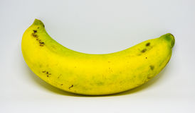Gelber Bananenblick mögen schlafen Lizenzfreie Stockfotografie