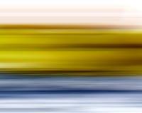 Gelber blauer Unschärfen-Hintergrund Stockfotos
