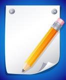 Gelber Bleistift Stockbild