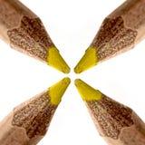 Gelber Bleistift Stockfotografie