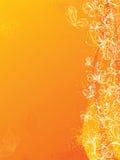 Gelber Blumenhintergrund Lizenzfreies Stockbild