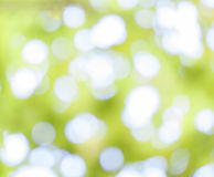 Gelber bokeh Zusammenfassungs-Lichthintergrund Stockbild