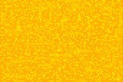 Gelber Dots Pattern Background Lizenzfreies Stockbild