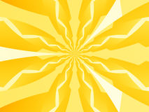 Gelber elektrischer Hintergrund Stockbild