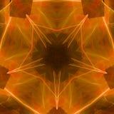 Gelber Fünf-Sternestern lizenzfreie abbildung