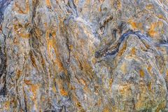 Gelber Gesteinsschichtoberfl?chenmarmor f?r Beschaffenheitshintergrund lizenzfreie stockfotografie