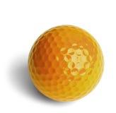 Gelber Golfball Stockbilder