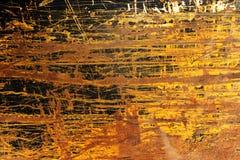 Gelber Grunge Hintergrund Stockfotografie