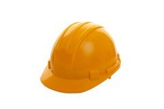 Gelber harter Hut Stockbild