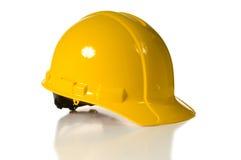 Gelber harter Hut lizenzfreies stockfoto