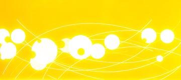 Gelber Hintergrund Stockbild