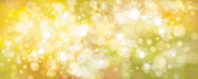 Gelber Hintergrund des Vektors Lizenzfreies Stockfoto