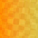 Gelber Hintergrund mit Quadraten Stockbilder
