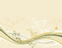 Gelber Hintergrund, Vektor stock abbildung