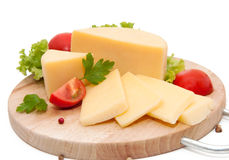 Gelber Käse Stockfotografie