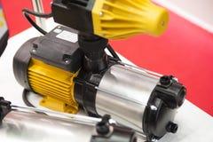 Gelber metallischer Stahlapparat lizenzfreie stockfotografie