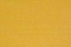 Gelber natürlicher Stoff Beschaffenheit für den Hintergrund Lizenzfreie Stockfotografie