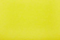 Gelber Papierbeschaffenheitshintergrund Lizenzfreie Stockbilder