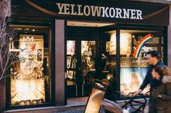 Gelber photographischer Speicher Korner in Frankreich, Straßburg Lizenzfreies Stockbild
