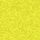 Gelber Pixelmosaikhintergrund Stockbilder
