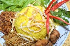 Gelber Reis Stockfoto