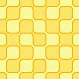Gelber Retro- Hintergrund Lizenzfreies Stockfoto