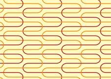 Gelber Retro- Hintergrund Stockbild