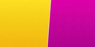 Gelber rosa Halbtonhintergrundvektor Stockbilder