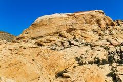 Gelber Sandsteinhügel, Nevada Lizenzfreie Stockbilder