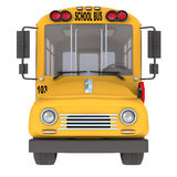 Gelber Schulbus stock abbildung