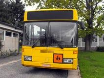 Gelber Schulbus. Stockfotos