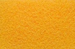 Gelber Schwammhintergrund Stockfoto
