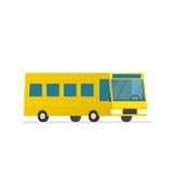 Gelber Stadtbus Lizenzfreie Stockbilder