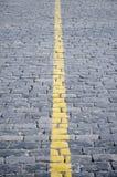 Gelber Streifen Stockfotografie