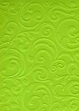 Gelber strukturierter Papier- oder Papphintergrund Stockfoto