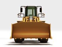 Gelber Traktor stock abbildung