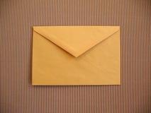 Gelber Umschlag lizenzfreie abbildung