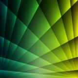 Gelber und blauer abstrakter Überfahrt-Licht-Hintergrund lizenzfreie abbildung