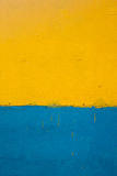 Gelber und blauer Hintergrund Lizenzfreie Stockbilder