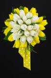 Gelber und weißer Blumenstrauß Lizenzfreie Stockbilder
