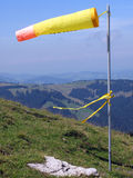 Gelber Windsock stockfotos