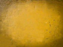 Gelber Zementboden des Schmutzes Stockbilder