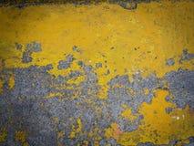 Gelber Zementboden des Schmutzes Lizenzfreies Stockbild