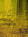 Gelber Ziegelstein Lizenzfreie Stockbilder