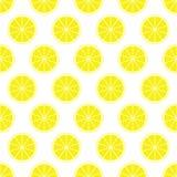 Gelber Zitrusfruchthintergrund der frischen saftigen Zitrone des Schnittes schellt in der Reihe neben einander und abwechselnd un vektor abbildung