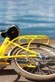 Gelbes bike2 Lizenzfreie Stockfotografie