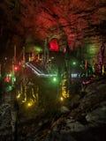 Gelbes Dragon Cave: Das Wunder des Welt-` s höhlt in Zhangjiajie, Provinz Hunan, China aus stockfotos