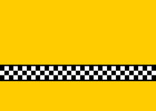 Gelbes Fahrerhaus Lizenzfreie Stockfotografie