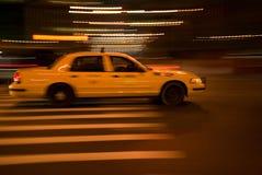 Gelbes Fahrerhaus Stockfotografie
